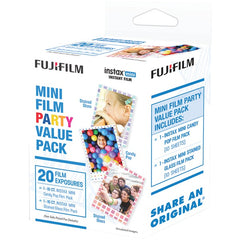 Fujifilm 600017170 instax mini Film Pack (Party Value Pack)