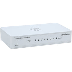 Manhattan 560702 Gigabit Ethernet Switch (8 Port)