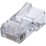 IDEAL 85-372 CAT-5E Feed-Thru RJ45 Mod Plugs (100 pk)