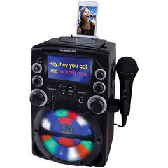Karaoke USA GQ740 CD+G Karaoke System with 4.3