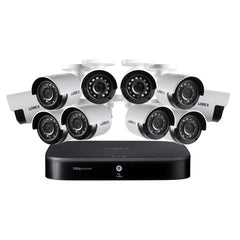 Lorex DF162-A2NAE 1080p HD 16-Channel DVR Security System with 2 TB Hard Drive and Ten 1080p Night Vision Security Cameras