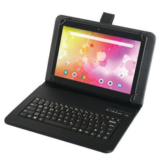 Naxa NID-1052 10.1-Inch Full HD Android 9.0 Tablet with Bluetooth Keyboard