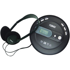 Naxa NPC330 Slim Personal CD/MP3 Player with FM Radio