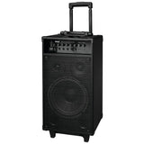 Pyle Pro PWMA1080IBT 800-Watt Portable Bluetooth PA Speaker System