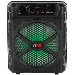 QFX BT-85 8-Inch TWS Ready Rechargeable Party Speaker