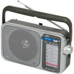 QFX R-24 Retro AM/FM/SW1 and SW2 Portable Radio