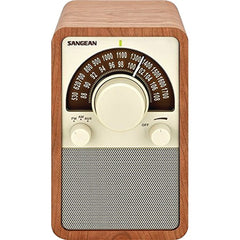 Sangean WR-15WL AM/FM Tabletop Radio (Walnut)