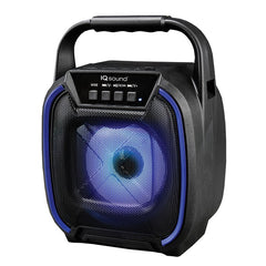 Supersonic IQ-1674BT- Blue 4-Inch Portable Bluetooth Speaker (Blue)