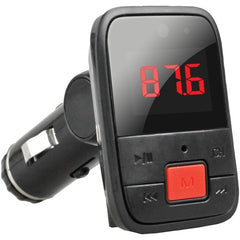 Supersonic IQ-208BT Bluetooth FM Transmitter with Large Red Display