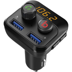 Supersonic IQ-226BT Bluetooth FM Transmitter with Dual USB Ports and Knobs
