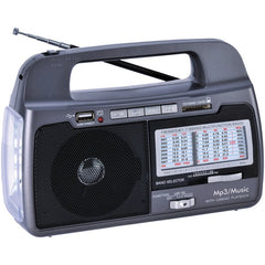 Supersonic SC-1082 9-Band AM/FM/SW 1-7 Portable Radio