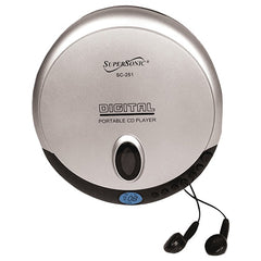 Supersonic SC-251 Personal CD Player