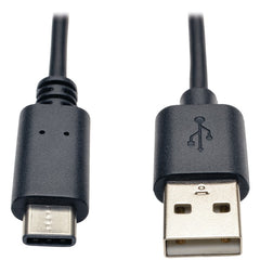 Tripp Lite U038-006 A-Male to USB-C Male USB 2.0 Cable (6ft)