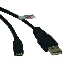 Tripp Lite U050-003 USB 2.0 Hi-Speed A-Male to Micro B-Male Cable (3ft)