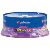 Verbatim 96542 8.5GB Dual-Layer DVD+Rs (30-ct Spindle)