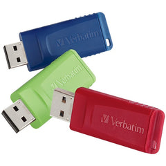Verbatim 97002 4GB Store 'n' Go USB Flash Drives, 3 pk