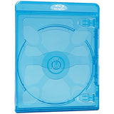 Verbatim 98603 Blu-ray DVD Blue Cases, 30 pk