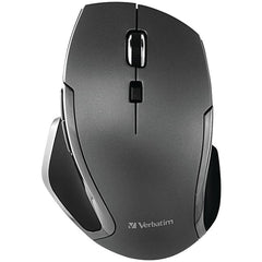 Verbatim 98621 Wireless Notebook 6-Button Deluxe Blue LED Mouse (Graphite)