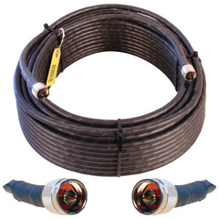 Wilson Electronics 952300 Wilson-400 N-Male to N-Male Coaxial Cable, 100ft (Black)