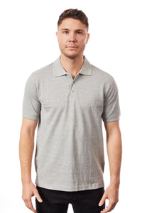 Tipsy Koala Men's Grey Polo
