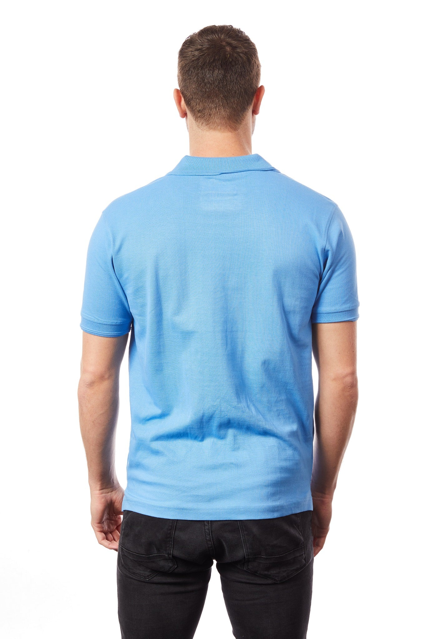 Tipsy Koala Men's Light Blue Polo