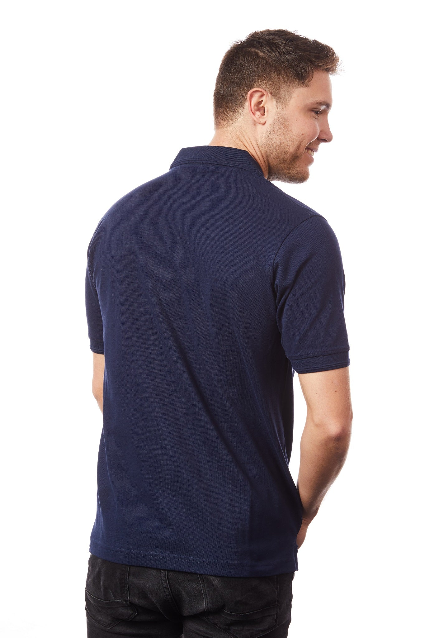 Tipsy Koala Men's Navy Polo