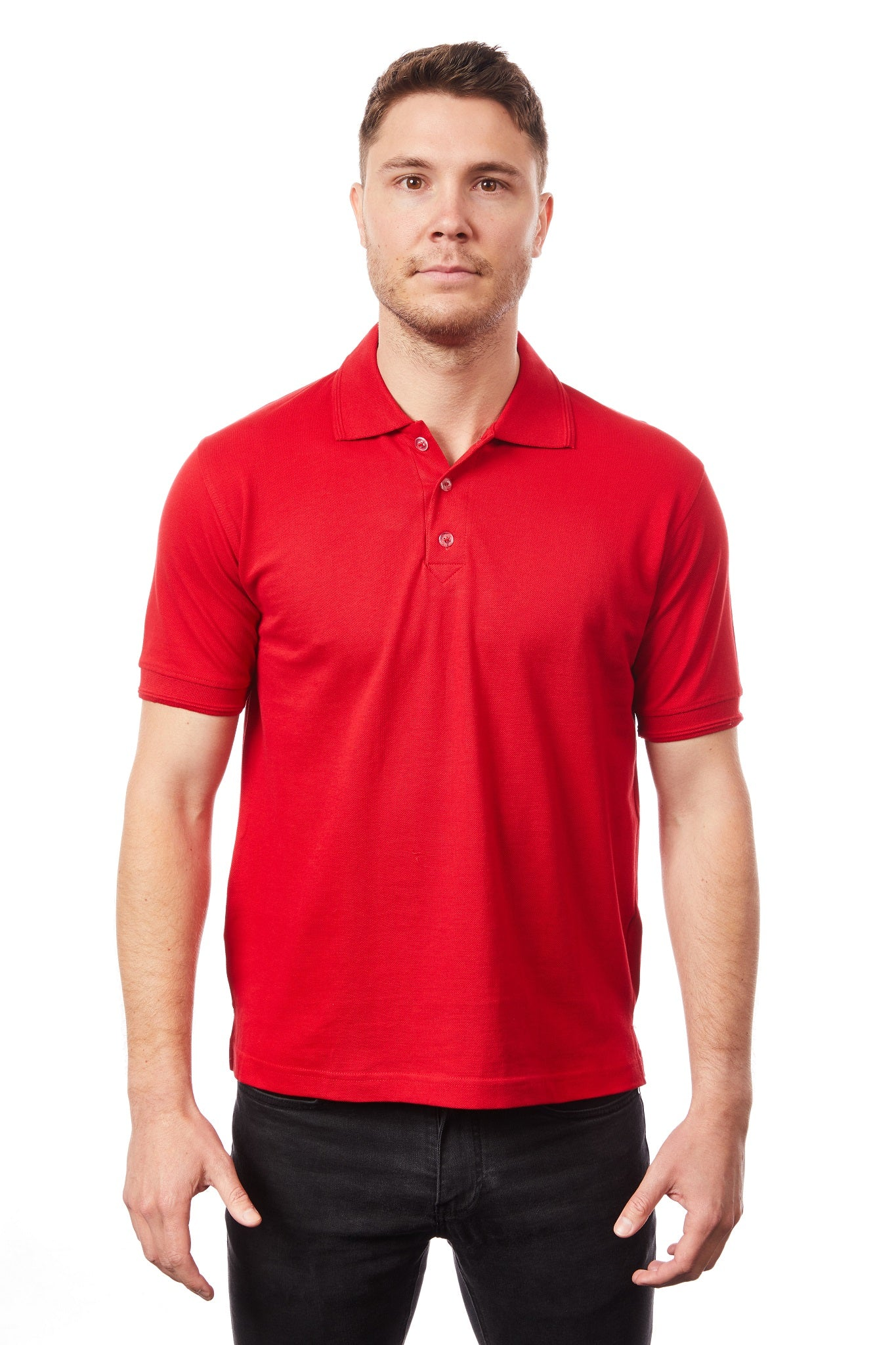 Tipsy Koala Men's Red Polo
