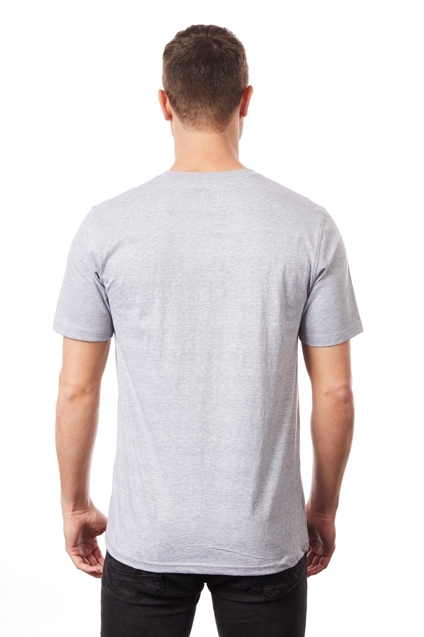 Tipsy Koala Men's Grey Round Neck