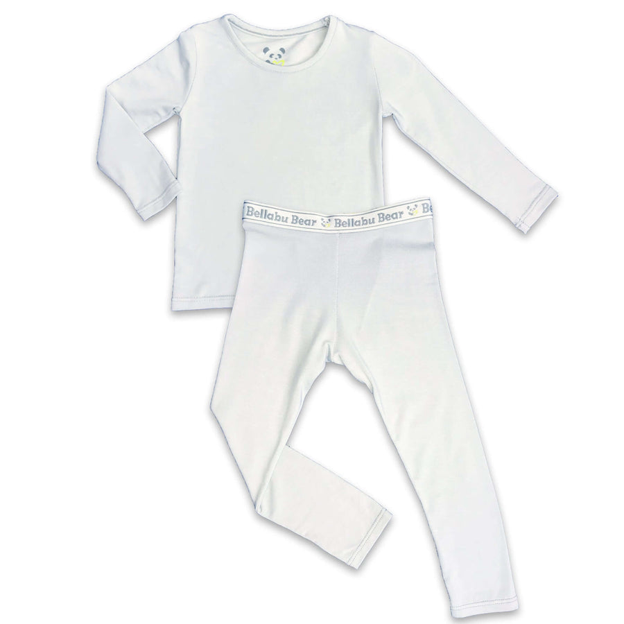 Cloud Grey boys girls Unisex Two-piece Long Sleeve Set