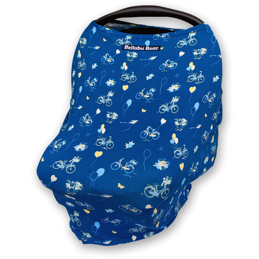 Bamboo 2 in 1 Car Seat & Nursing Cover