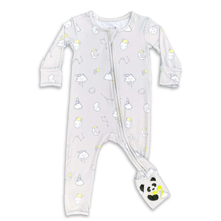 softest baby pajamas, clothing good for baby with eczema, eczema clothing, convertible footie, double zipper, soft baby clothes, baby boy clothes, baby girl clothes, neutral baby pajamas