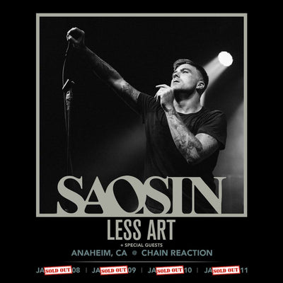 SAOSIN Sells Out Chain Reaction
