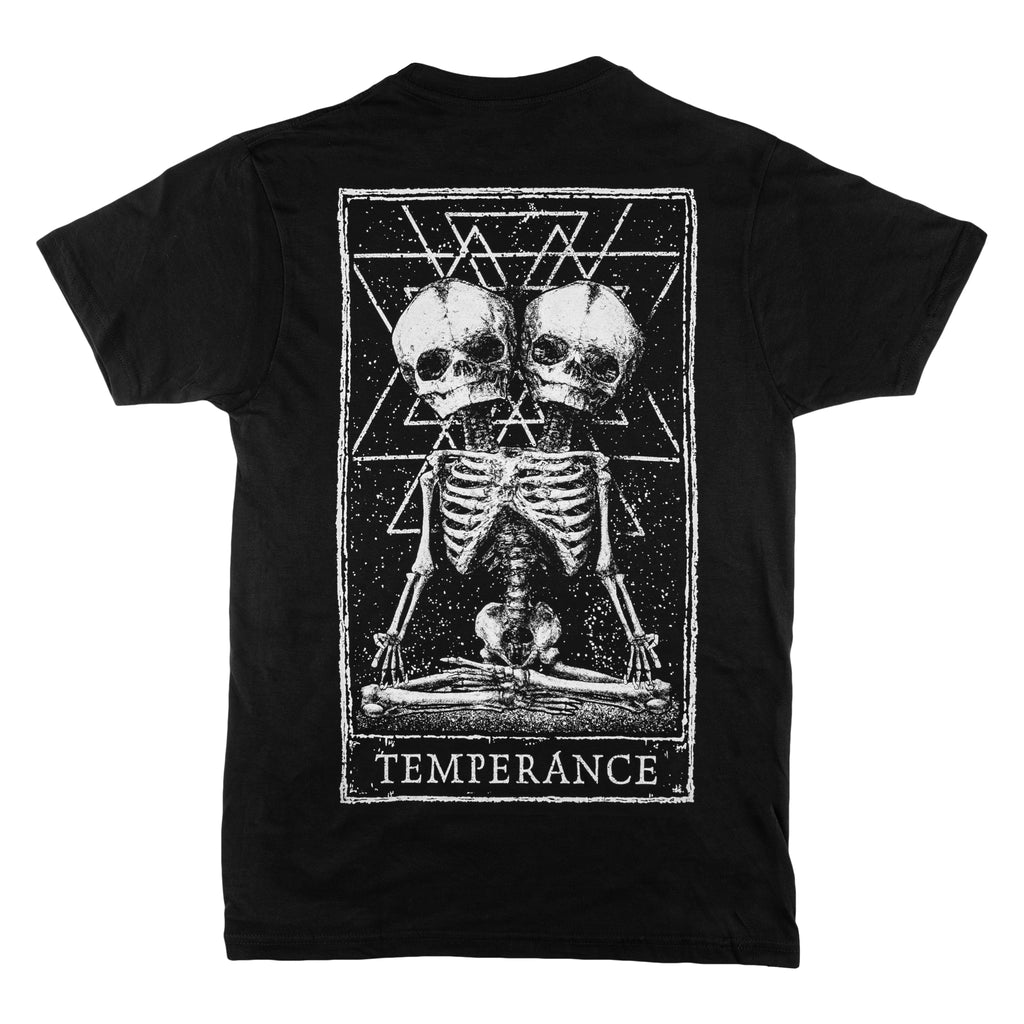 Temperance Tarot Design Back Print T-Shirt