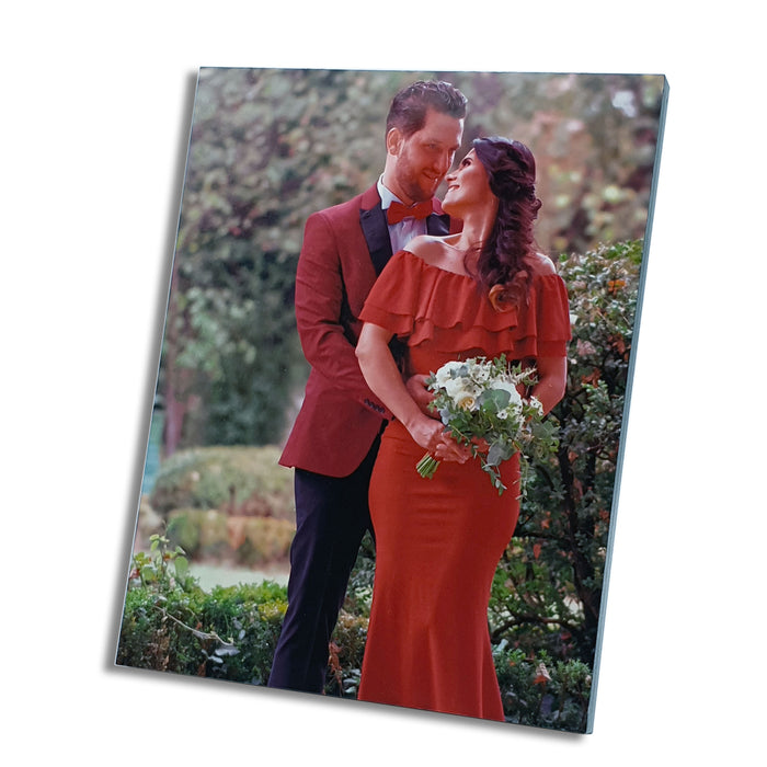 Personalised Wooden Photo Block 7''x9''