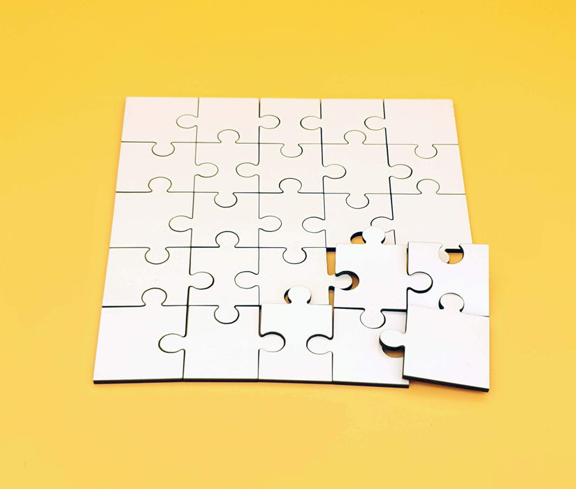 Blank Personalised Wooden Puzzle 25 pieces