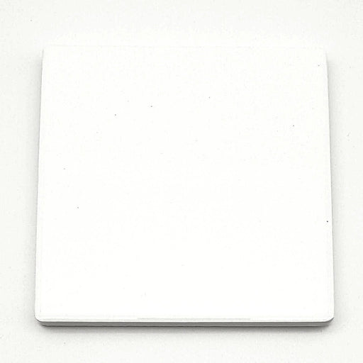 Shiny Ceramic Tile Coaster with white coat surface for vivid coaster print
