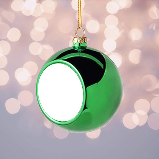 Personalised Christmas Bauble | Green design-your-gift.