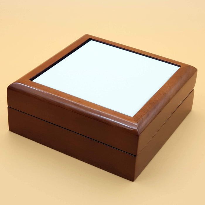 Blank Brown Personalised Jewellery Box