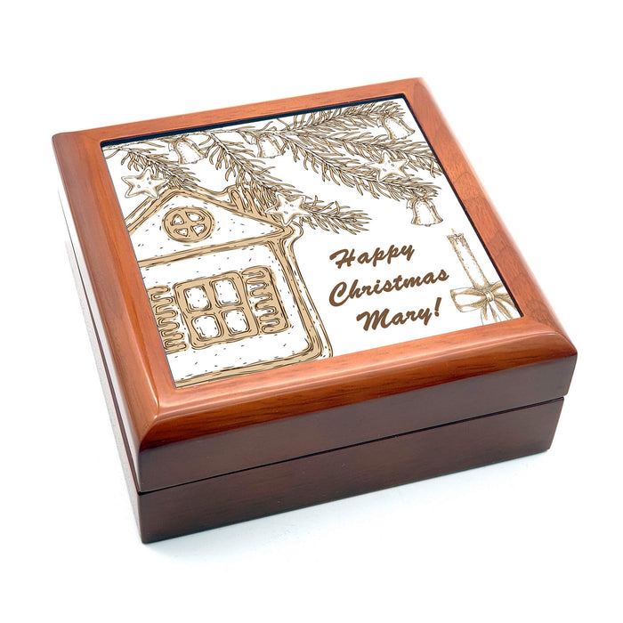 Personalised Christmas Eve Box - Brown | Christmas Farm House design-your-gift.