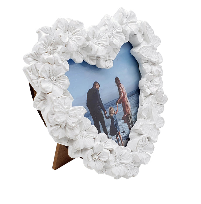 Floral Photo Frames Heart shape