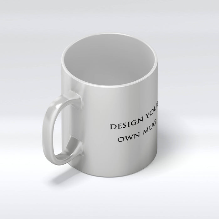 Personalised Silver Mugs | Design Your Own Mug design-your-gift.