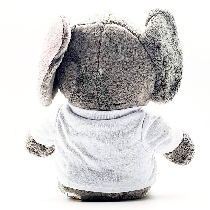 Personalised Elephant Teddy Back