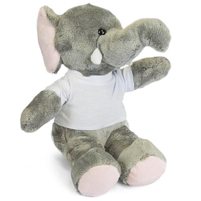 Personalised Elephant Teddy front