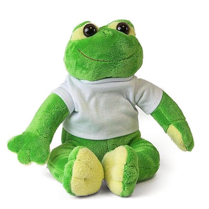 Personalised Frog Teddy front