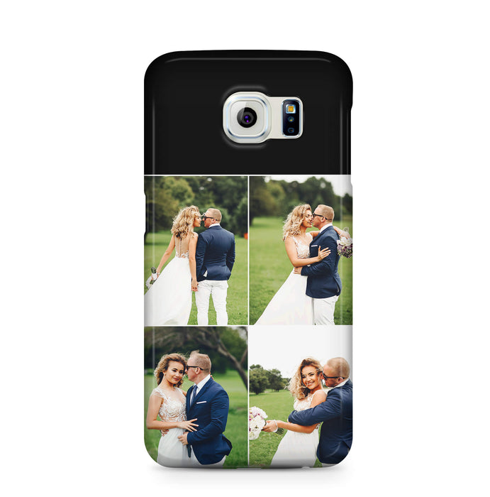 4 Photo Collage Samsung Galaxy 3D Phone Case design-your-gift.