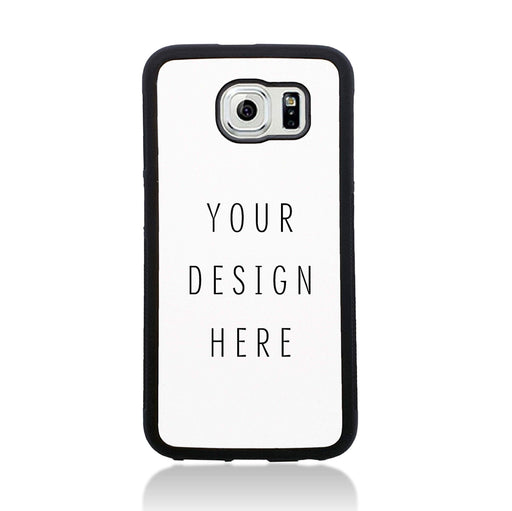 Design Your Own Galaxy S6 Black Rubber Phone Case