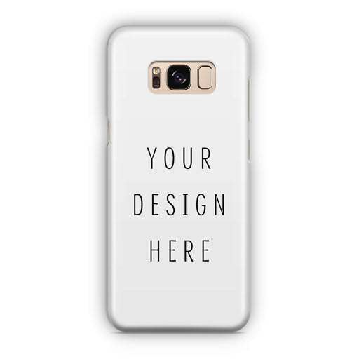 Design Your Own Samsung Galaxy S8 3D Custom Phone Case
