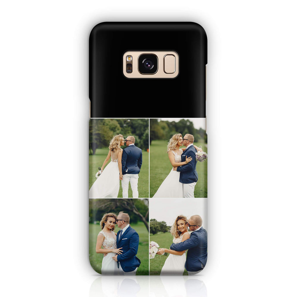 4 Photo Collage - Galaxy S8 Plus 3D Custom Phone Case design-your-gift.
