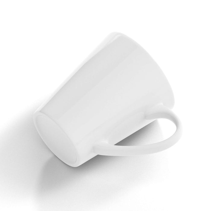 Personalised White 12oz Latte Mug For vivid print
