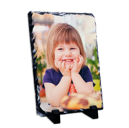 Personalised Photo slate 15x20cm design-your-gift.